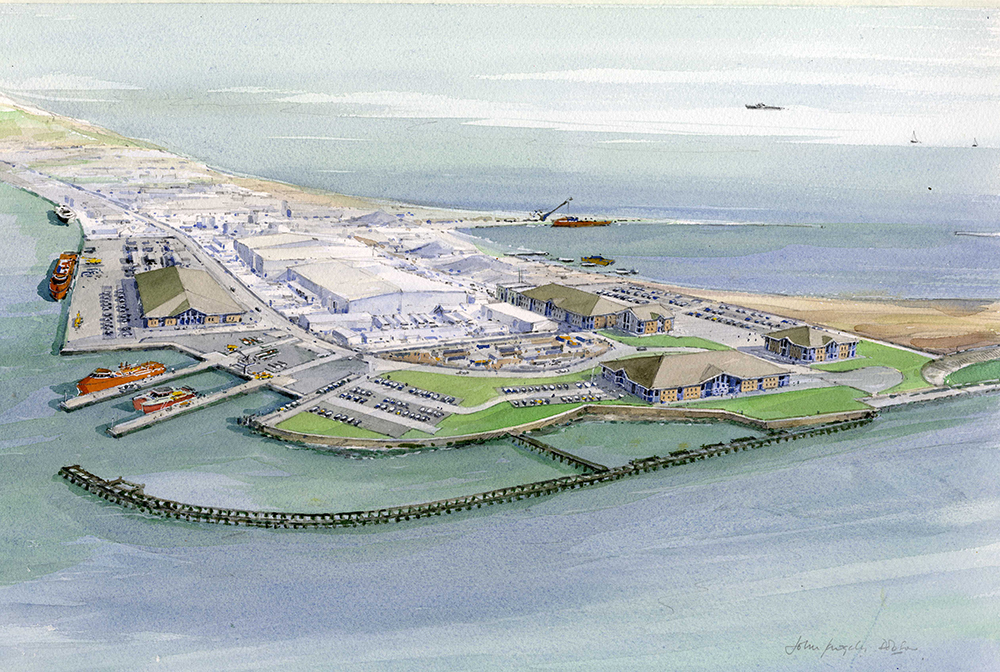 Artist Impression - Operations and Maintenance Site